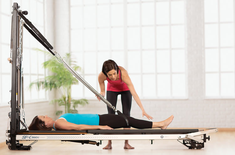 Pilates. Vertical frame